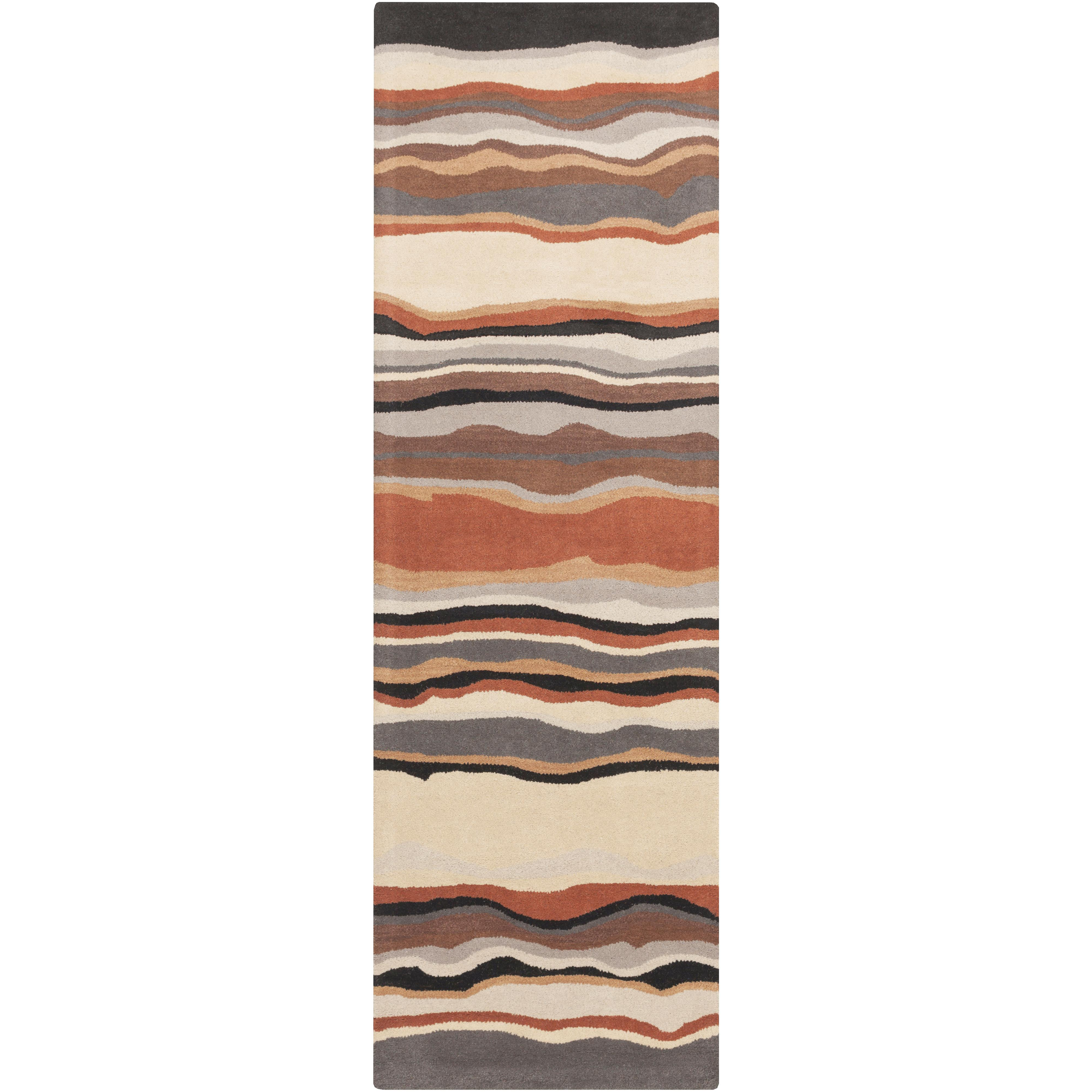 "Surya Rugs Forum 2'6"" x 8' - Item Number: FM7192-268"