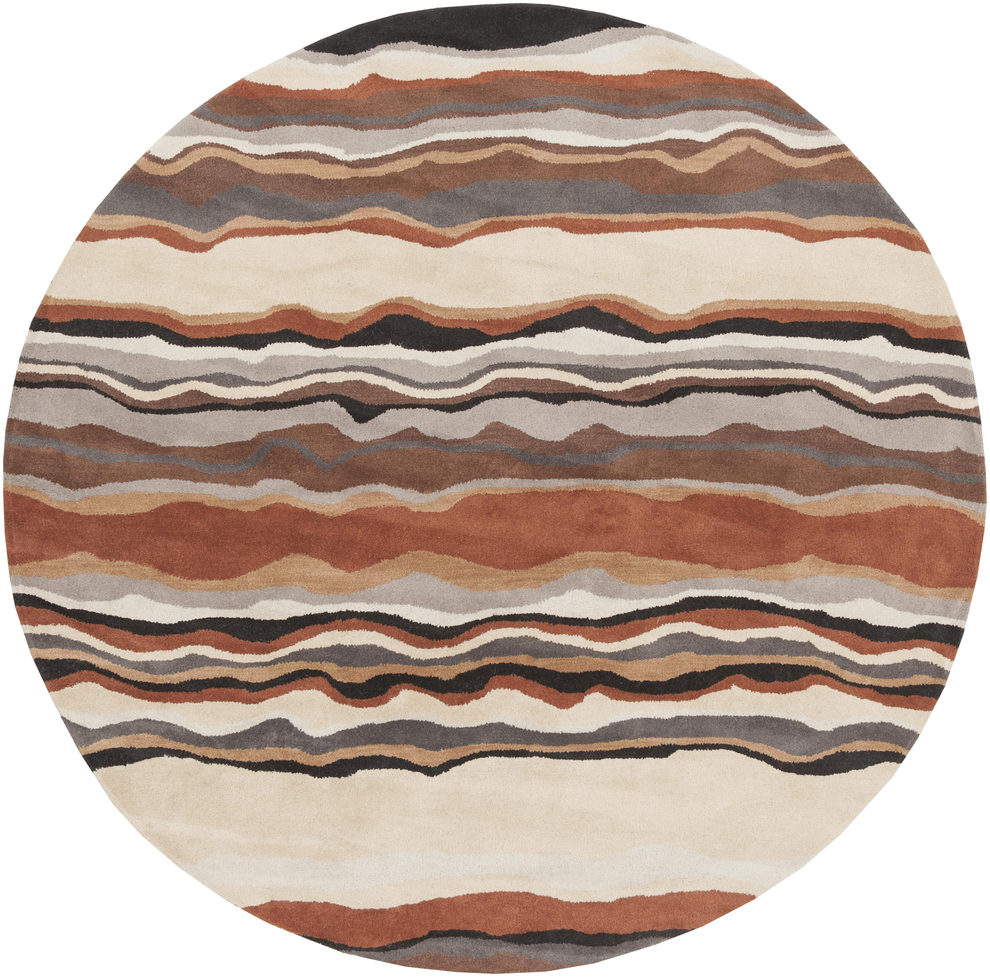 Surya Rugs Forum 8' Round - Item Number: FM7192-8RD