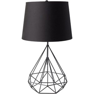 Painted Modern Table Lamp