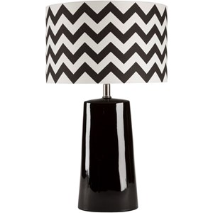Surya Gabby Black Modern Table Lamp