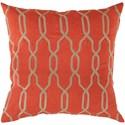 Surya Gates 22 x 22 x 5 Down Throw Pillow - Item Number: COM005-2222D