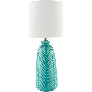 Surya Gilani Blue Table Lamp