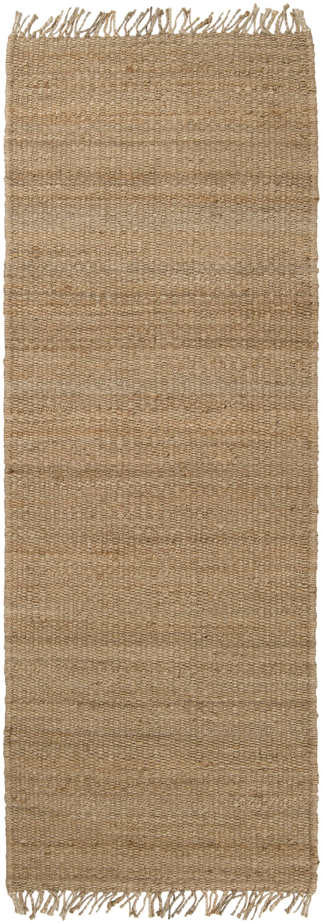 "Surya Jute Natural 2'6"" x 8' - Item Number: J-268"