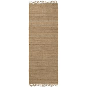 "Surya Rugs Jute Natural 2'6"" x 8'"