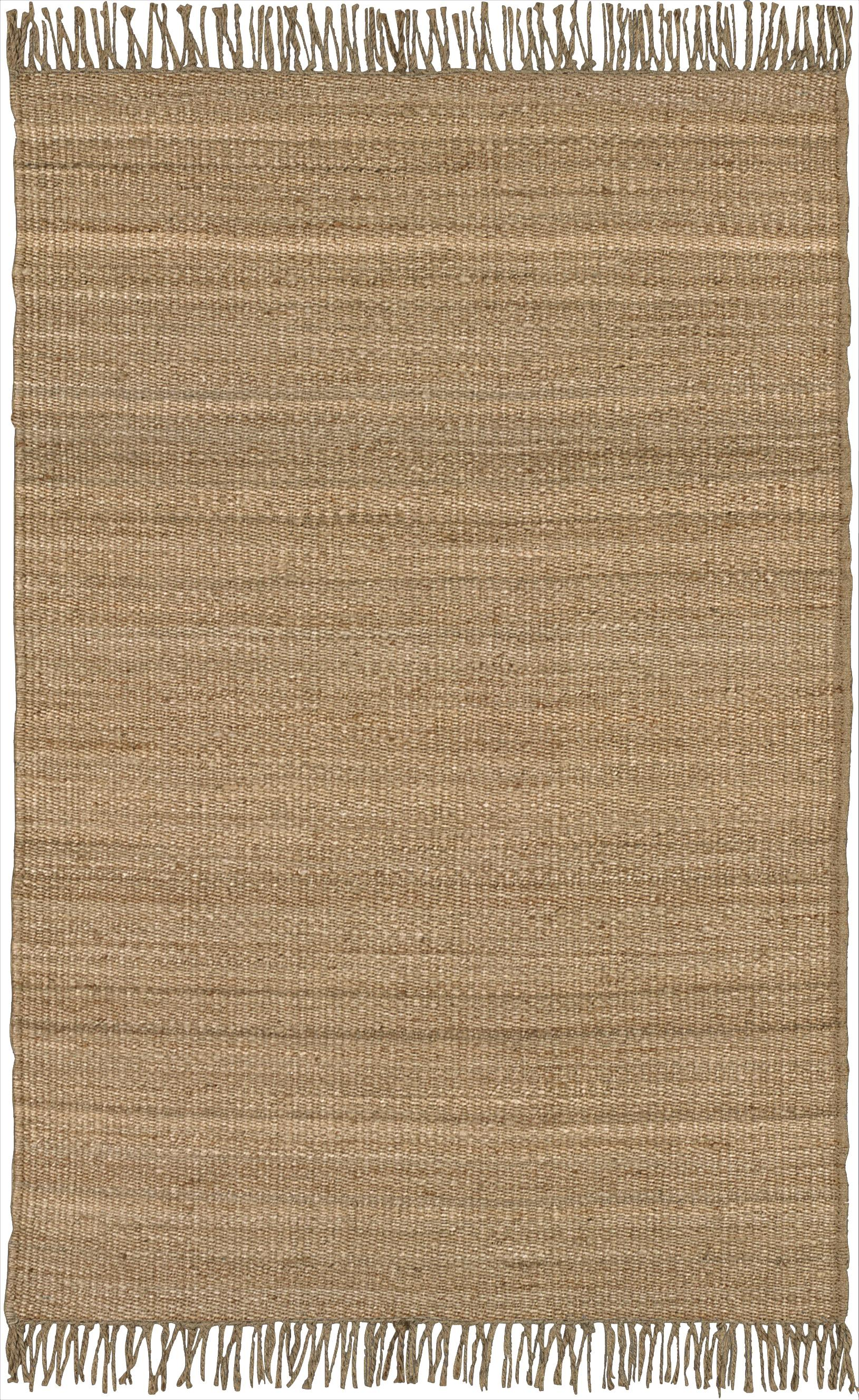 "Surya Jute Natural 4' x 5'9"" - Item Number: J-46"