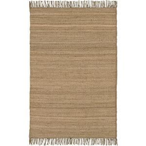 Surya Rugs Jute Natural 4' x 5'9""