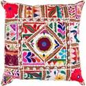 Surya Karma 18 x 18 x 4 Down Throw Pillow - Item Number: AR068-1818D