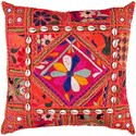 Surya Karma 18 x 18 x 4 Down Throw Pillow - Item Number: AR070-1818D