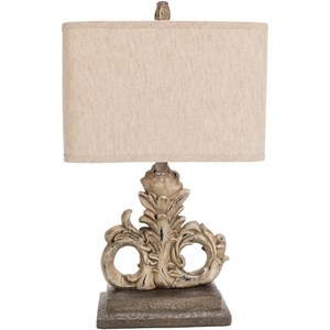 Painted Traditional Table Lamp