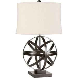 Surya Lamps Bronze Industrial Table Lamp