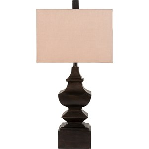 Surya Lamps Aged Bronze Traditional Table Lamp