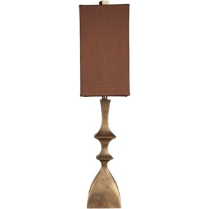 Surya Lamps Aged Goldtone Traditional Table Lamp