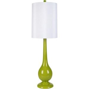 Surya Lamps Lime Modern Table Lamp
