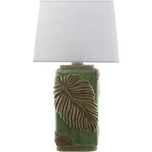 Green Coastal Table Lamp