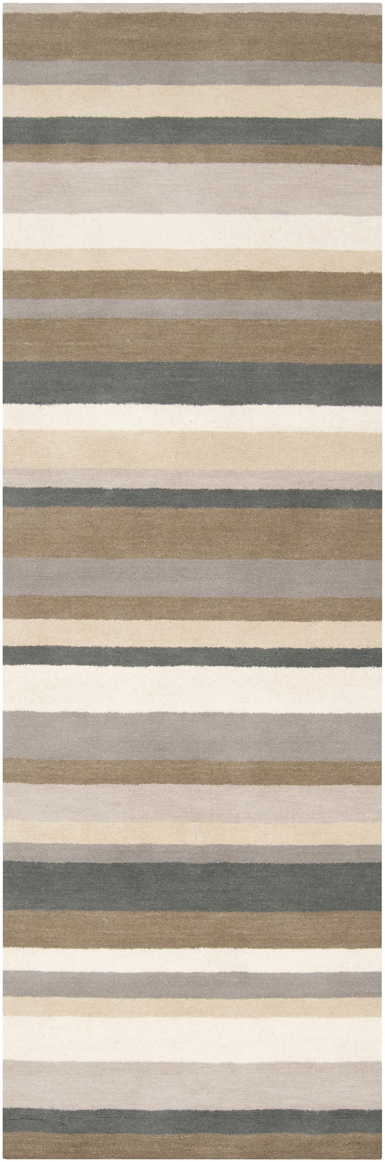 "Surya Madison Square 2'6"" x 8' - Item Number: MDS1006-268"