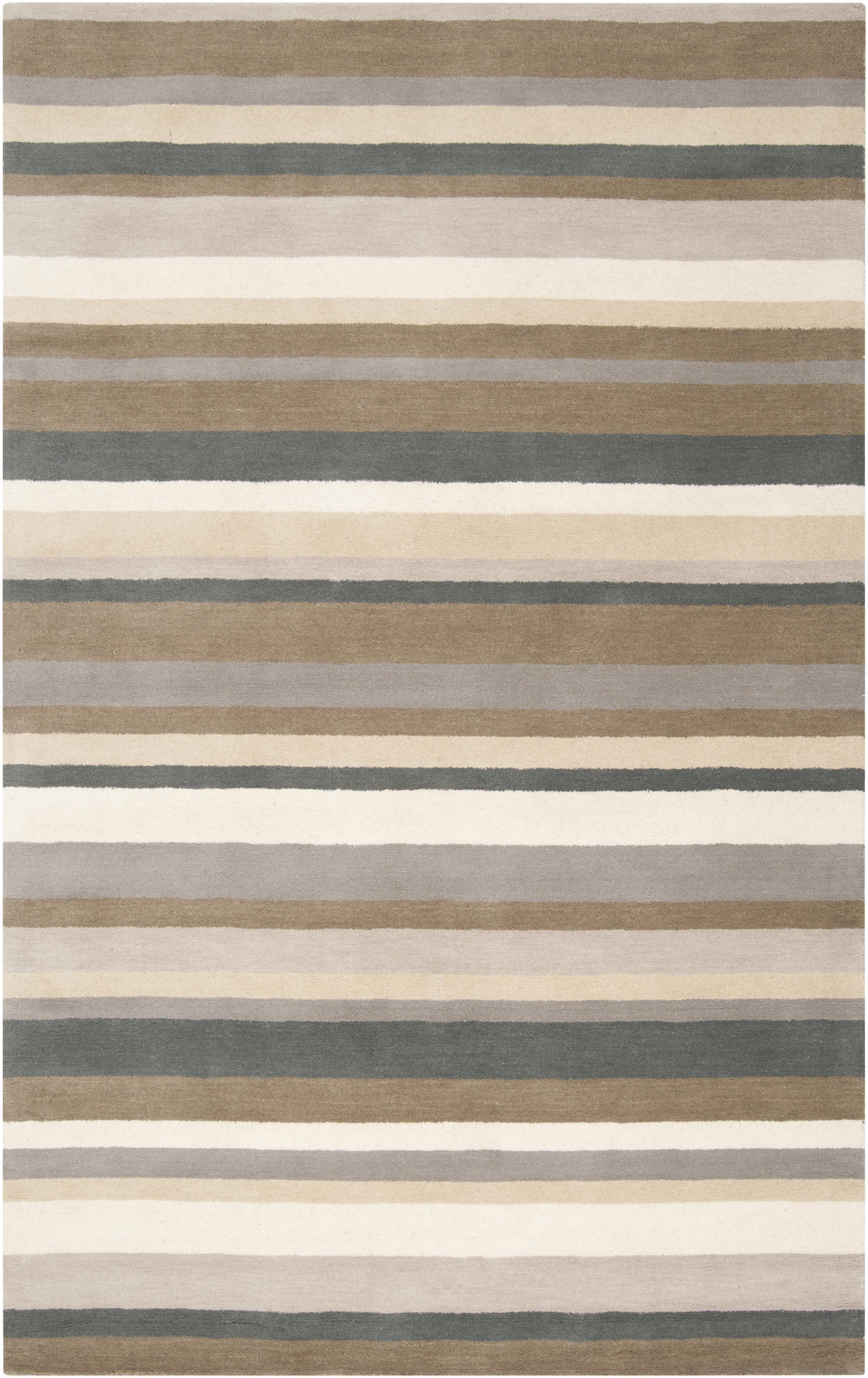 "Surya Madison Square 3'3"" x 5'3"" - Item Number: MDS1006-3353"