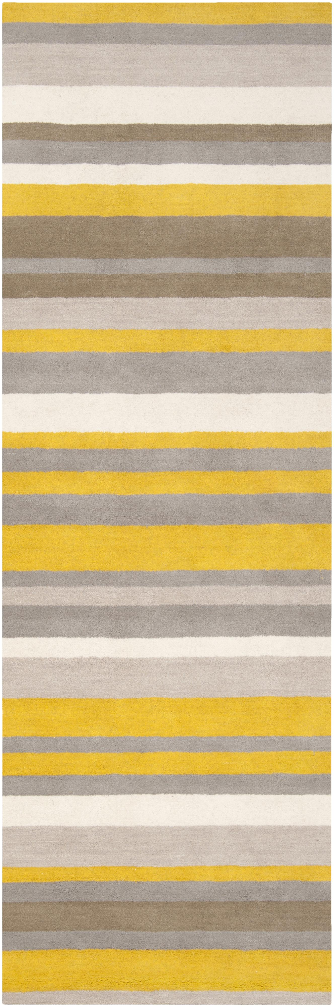 "Surya Madison Square 2'6"" x 8' - Item Number: MDS1008-268"