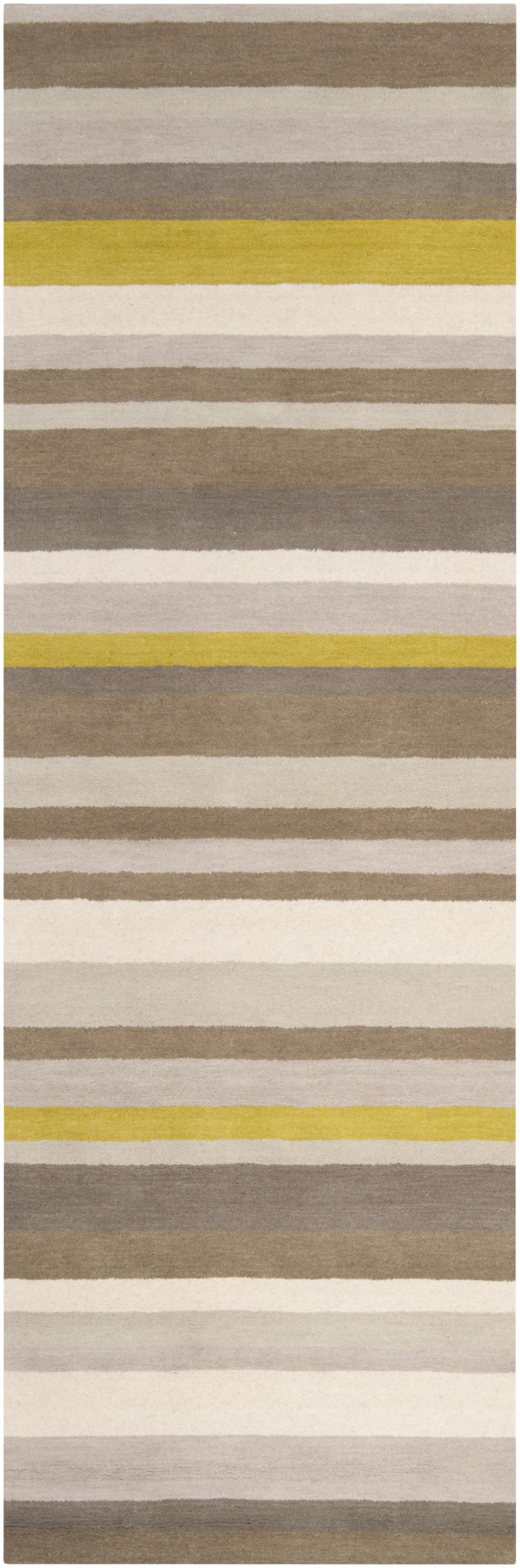 "Surya Madison Square 2'6"" x 8' - Item Number: MDS1010-268"
