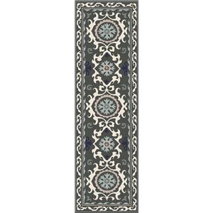 "Surya Rugs Mamba 2'6"" x 8'"