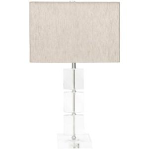 Surya Mckenzie Natural Finish Glam Table Lamp