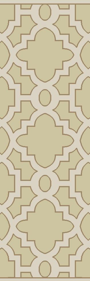 "Surya Rugs Modern Classics 2'6"" x 8' - Item Number: CAN2038-268"