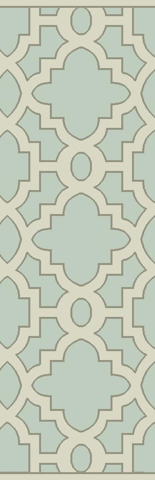 "Surya Modern Classics 2'6"" x 8' - Item Number: CAN2039-268"