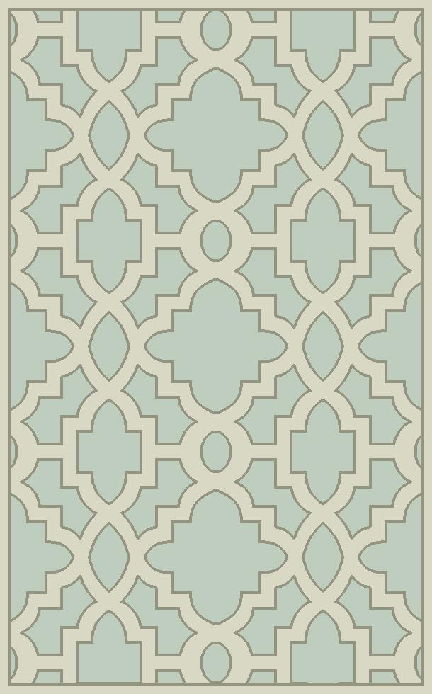 """Surya Rugs Modern Classics 3'3"""" x 5'3"""" - Item Number: CAN2039-3353"""