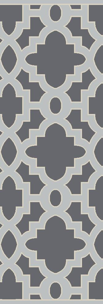 """Surya Rugs Modern Classics 2'6"""" x 8' - Item Number: CAN2040-268"""