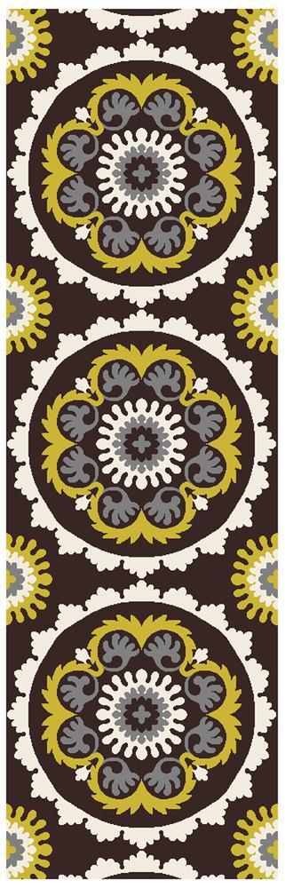 "Surya Rugs Mosaic 2'6"" x 8' - Item Number: MOS1063-268"
