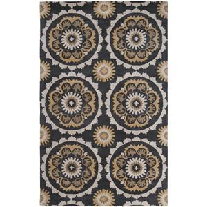 "Surya Rugs Mosaic 3'3"" x 5'3"""
