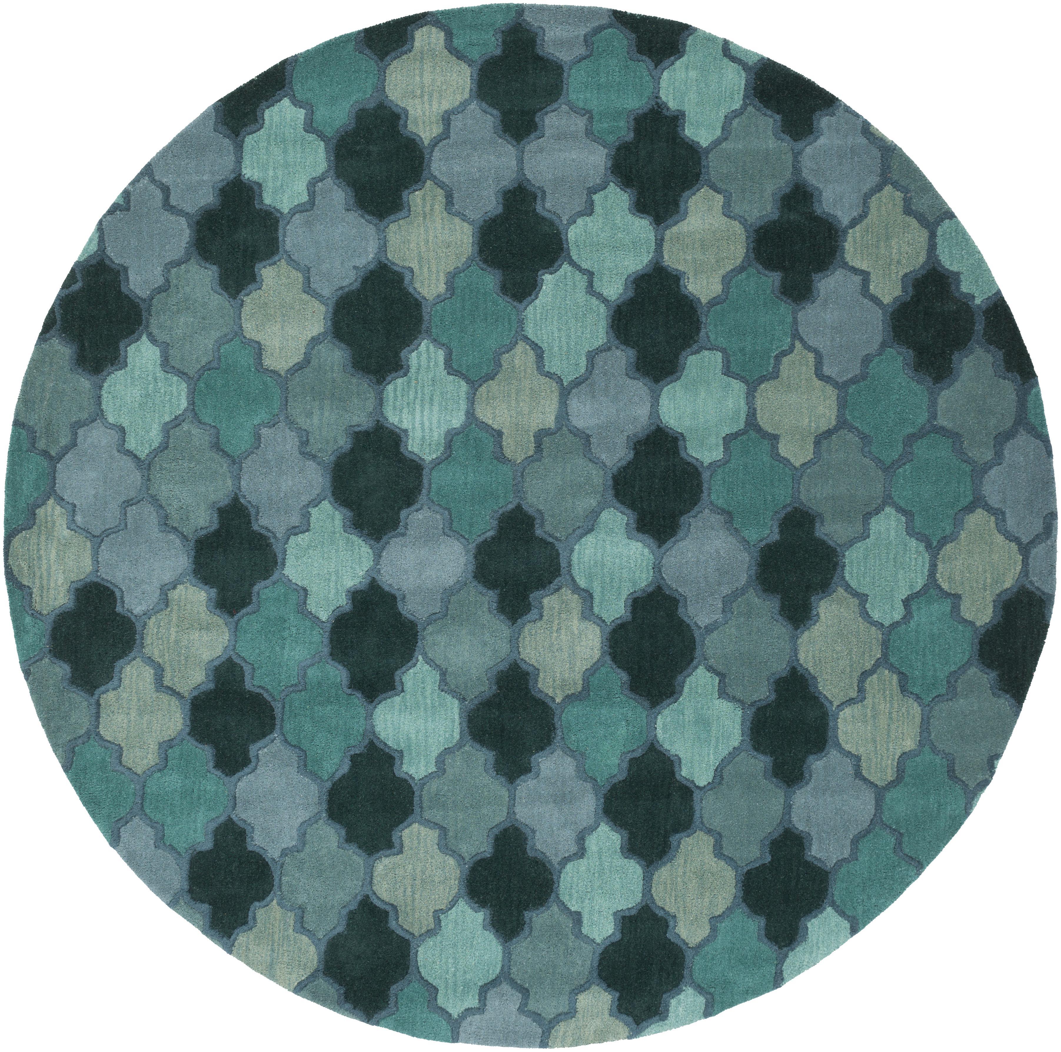 Surya Rugs Oasis 8' Round - Item Number: OAS1102-8RD