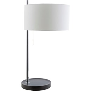 Chrome Contemporary Table Lamp