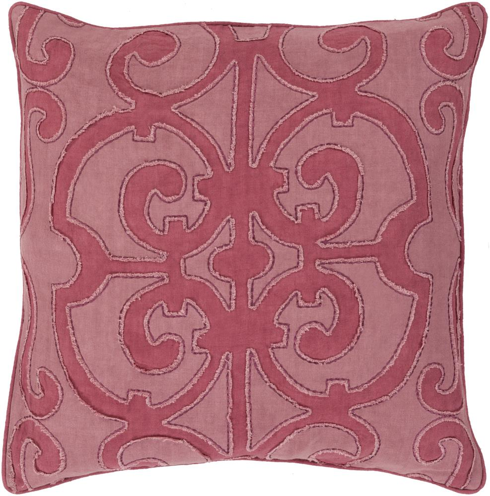 "Surya Pillows 20"" x 20"" Decorative Pillow - Item Number: AL001-2020P"