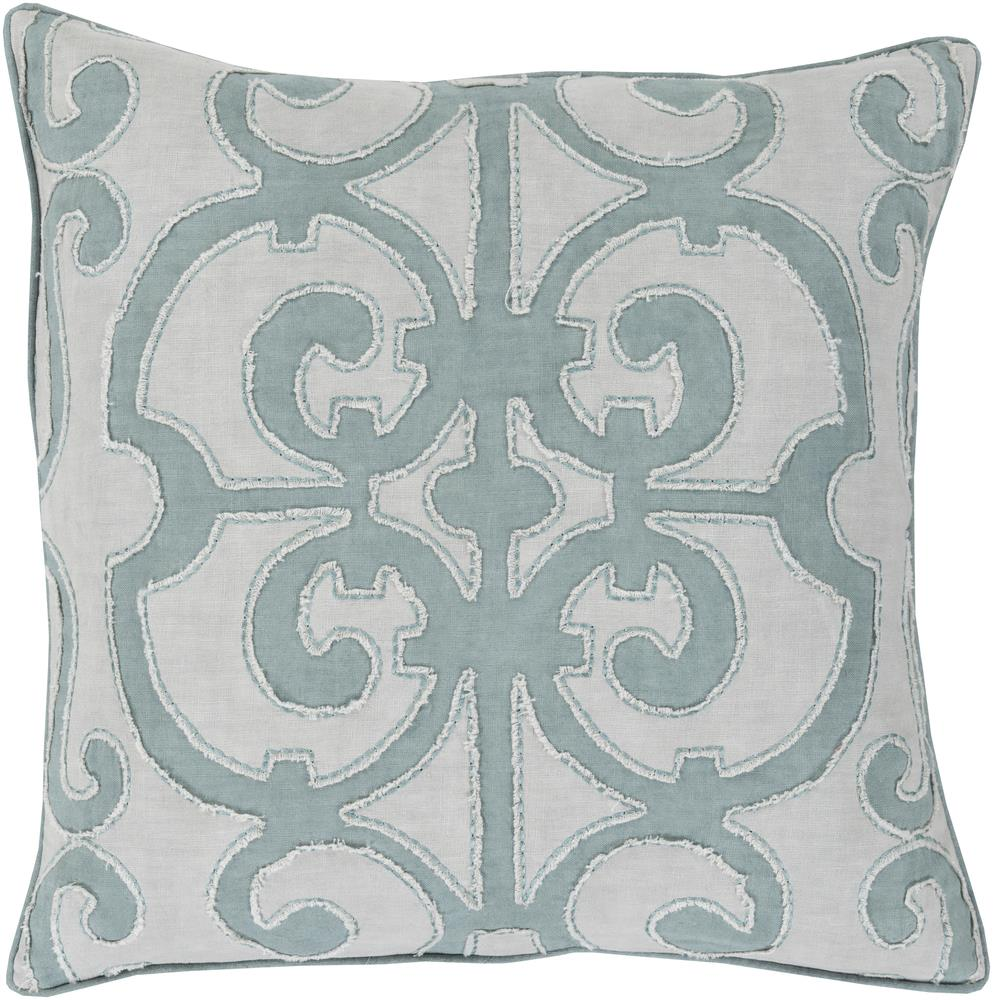 "Surya Rugs Pillows 20"" x 20"" Decorative Pillow - Item Number: AL003-2020P"