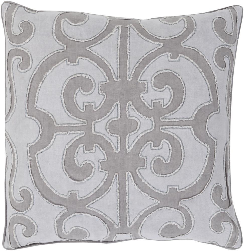 """Surya Rugs Pillows 22"""" x 22"""" Decorative Pillow - Item Number: AL004-2222P"""