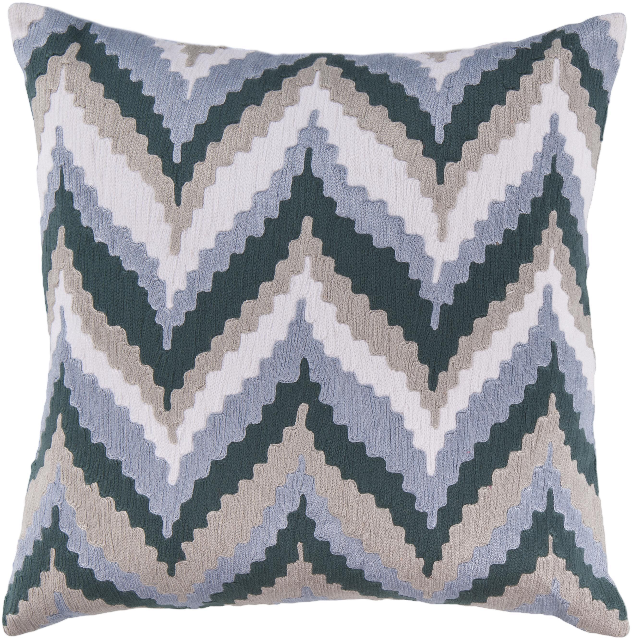 """Surya Pillows 18"""" x 18"""" Pillow - Item Number: AR053-1818P"""