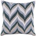 "Surya Pillows 22"" x 22"" Pillow - Item Number: AR053-2222P"