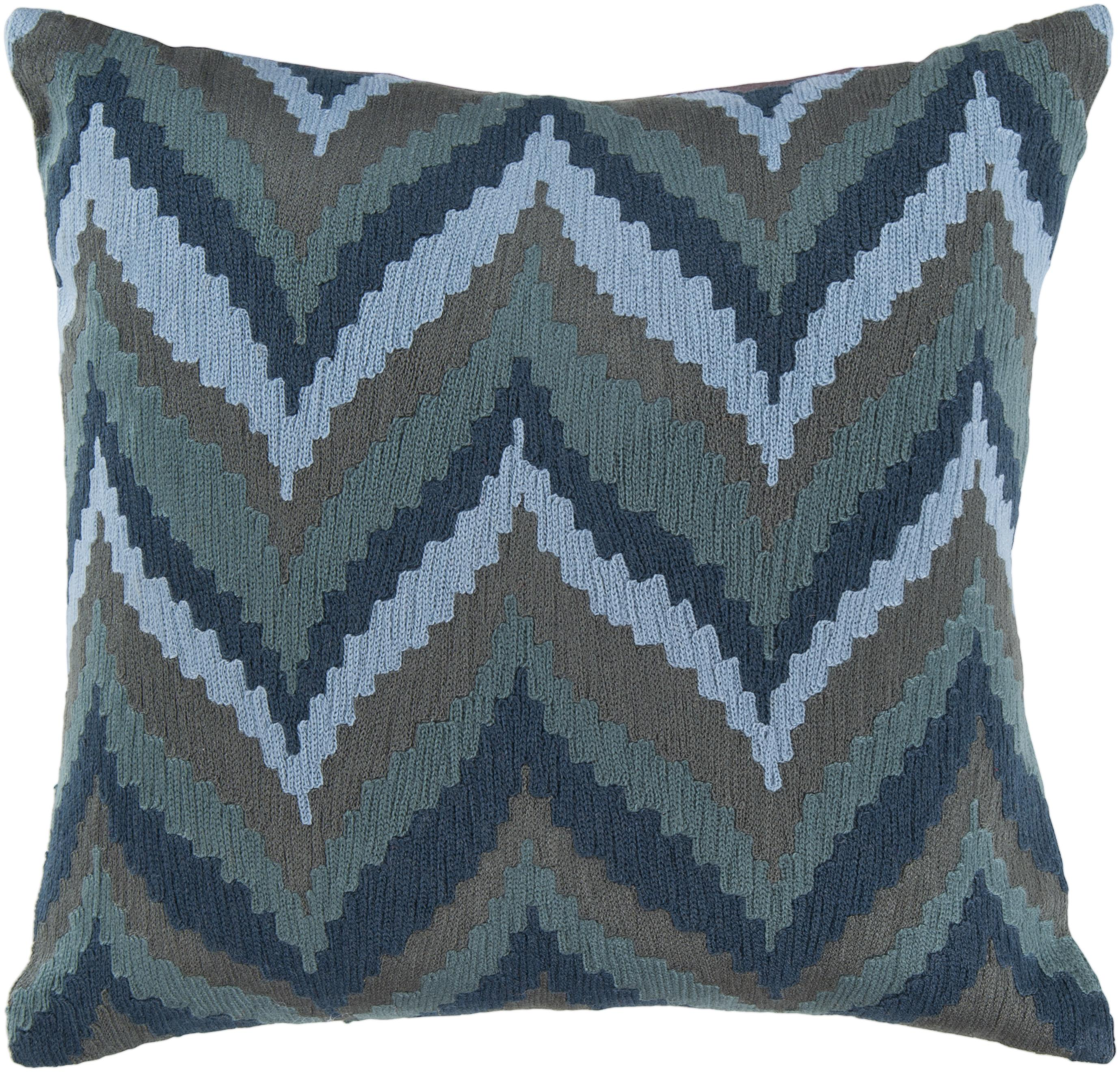 "Surya Pillows 22"" x 22"" Pillow - Item Number: AR054-2222P"