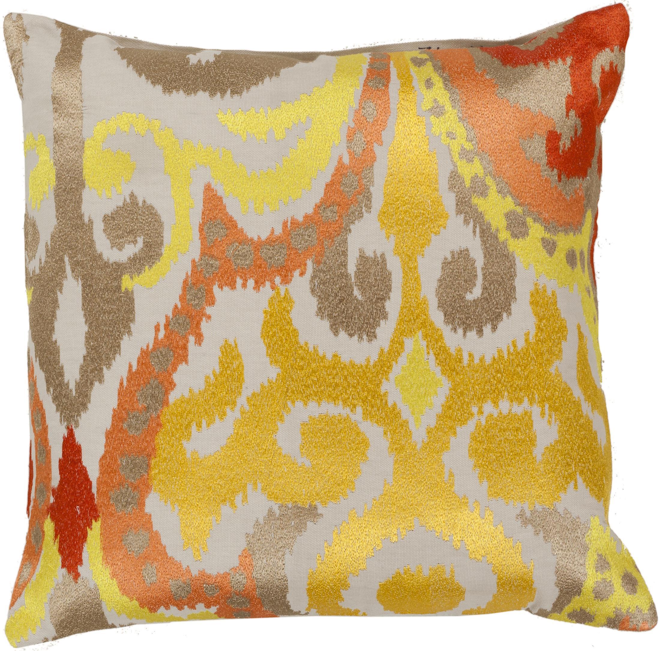 """Surya Pillows 18"""" x 18"""" Pillow - Item Number: AR072-1818P"""