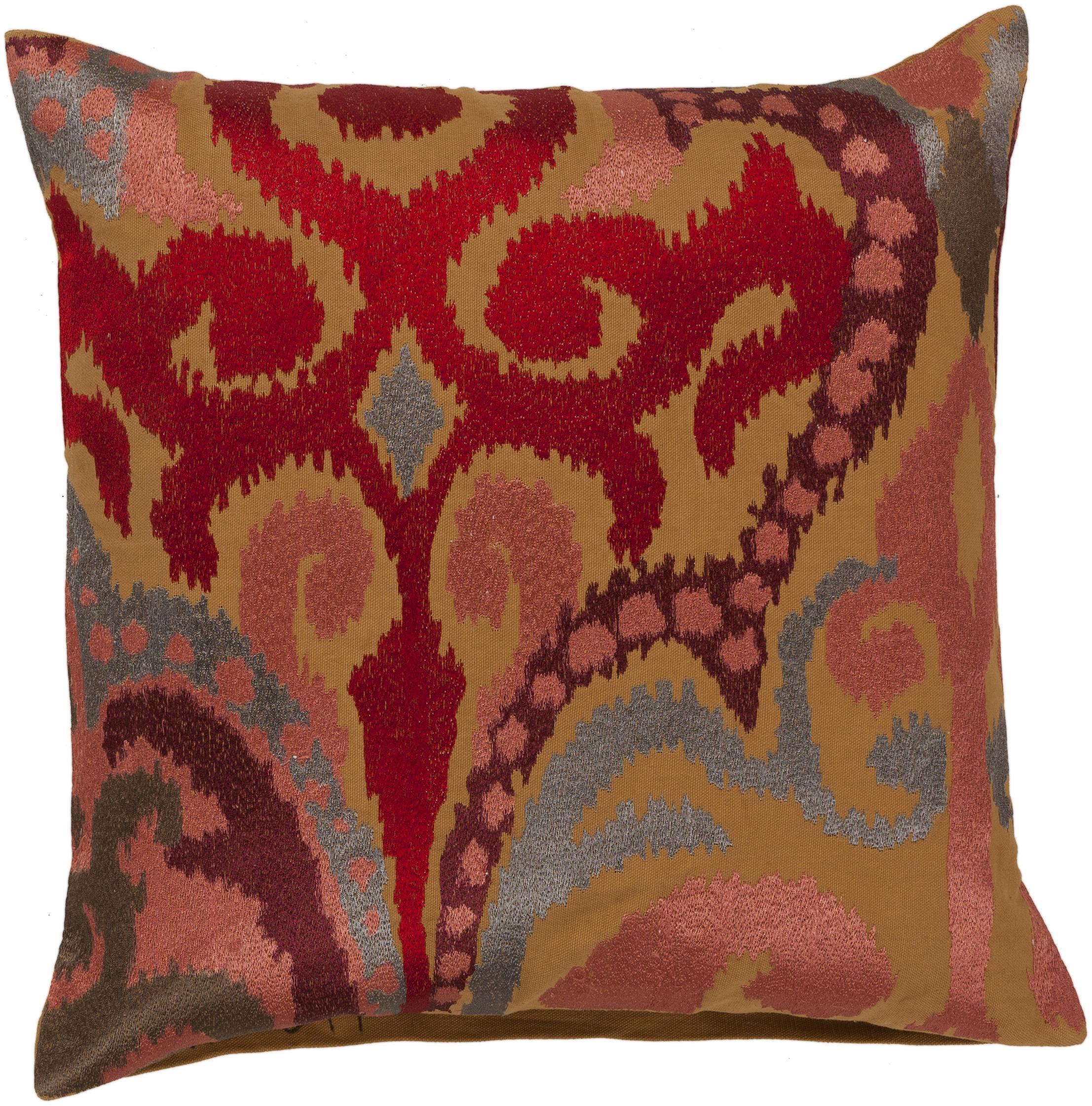"""Surya Pillows 22"""" x 22"""" Pillow - Item Number: AR077-2222P"""