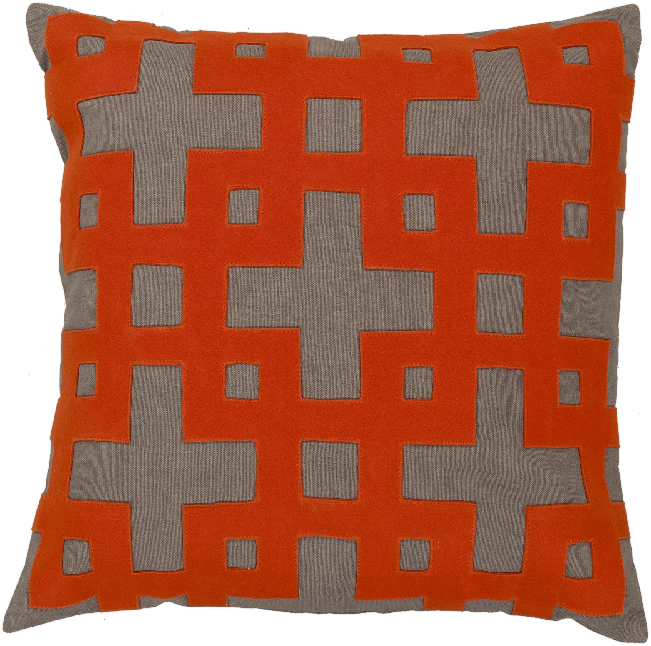 "Surya Pillows 18"" x 18"" Pillow - Item Number: AR081-1818P"