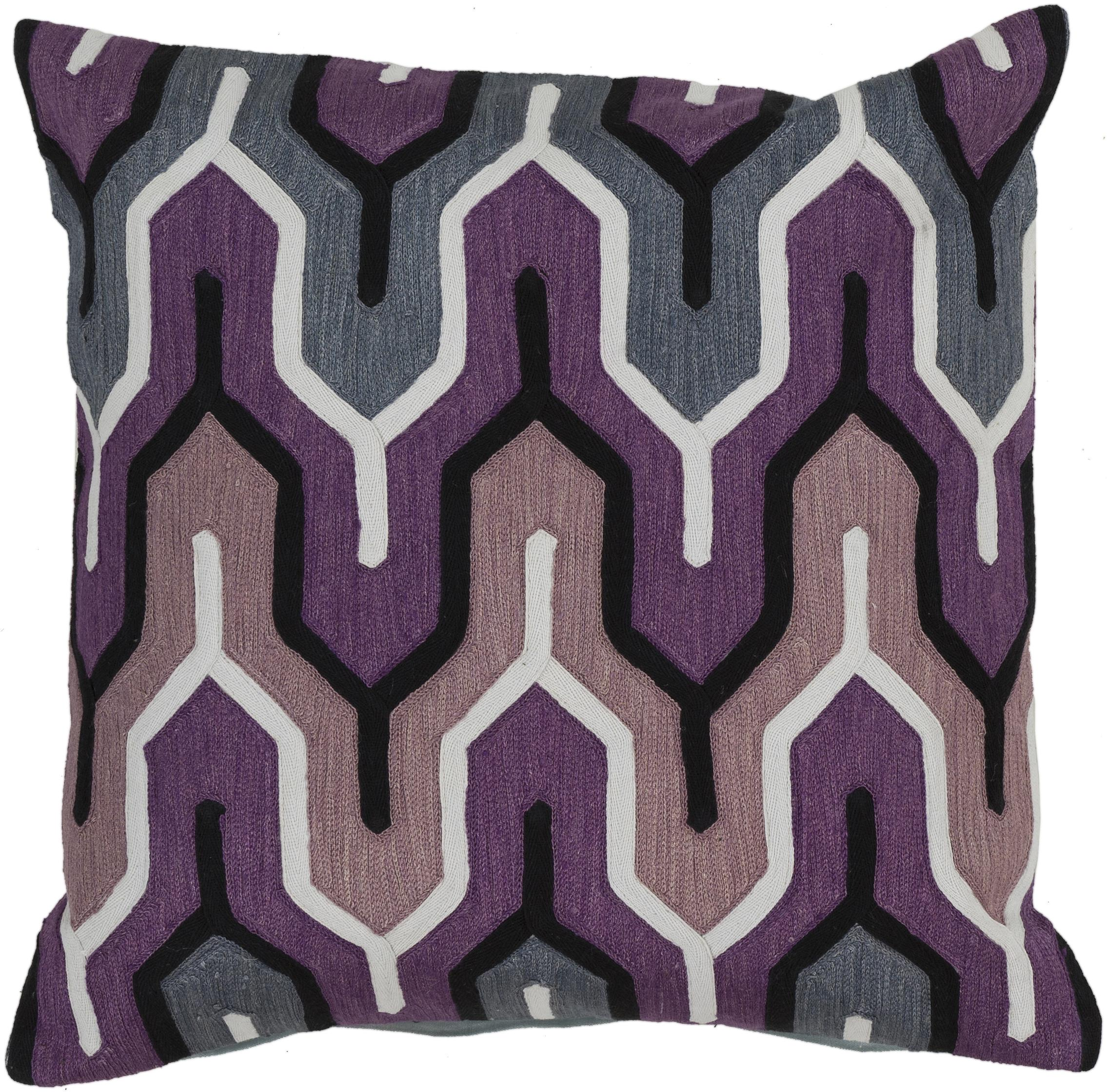 "Surya Pillows 18"" x 18"" Pillow - Item Number: AR107-1818P"