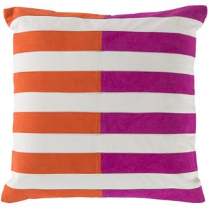 "Surya Rugs Pillows 20"" x 20"" Oxford Pillow"