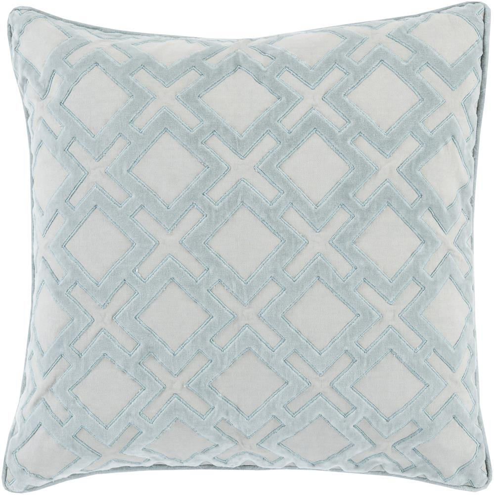 "Surya Rugs Pillows 18"" x 18"" Decorative Pillow - Item Number: AX001-1818P"