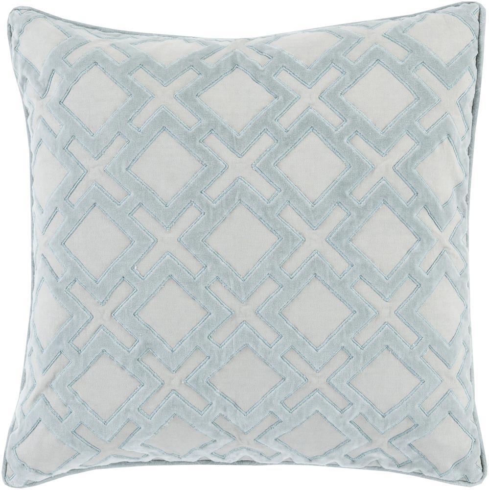 """Surya Pillows 22"""" x 22"""" Decorative Pillow - Item Number: AX001-2222P"""
