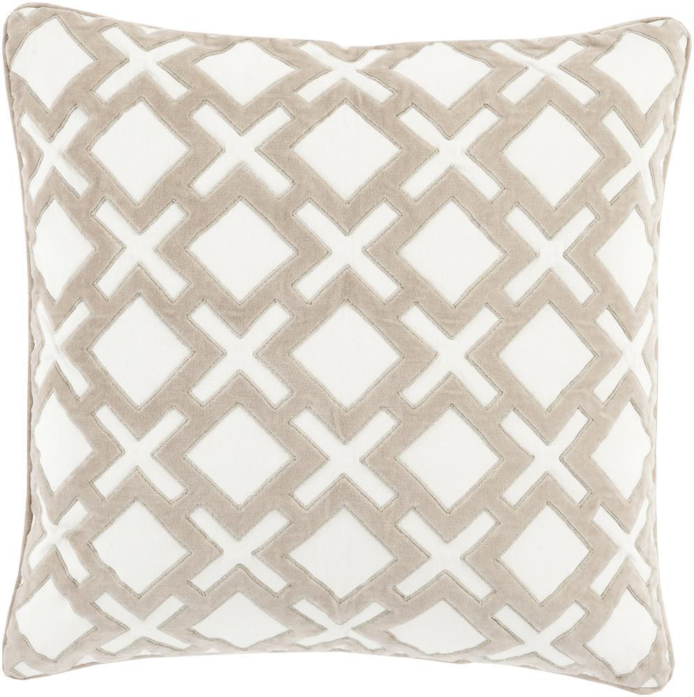 """Surya Rugs Pillows 22"""" x 22"""" Decorative Pillow - Item Number: AX002-2222P"""