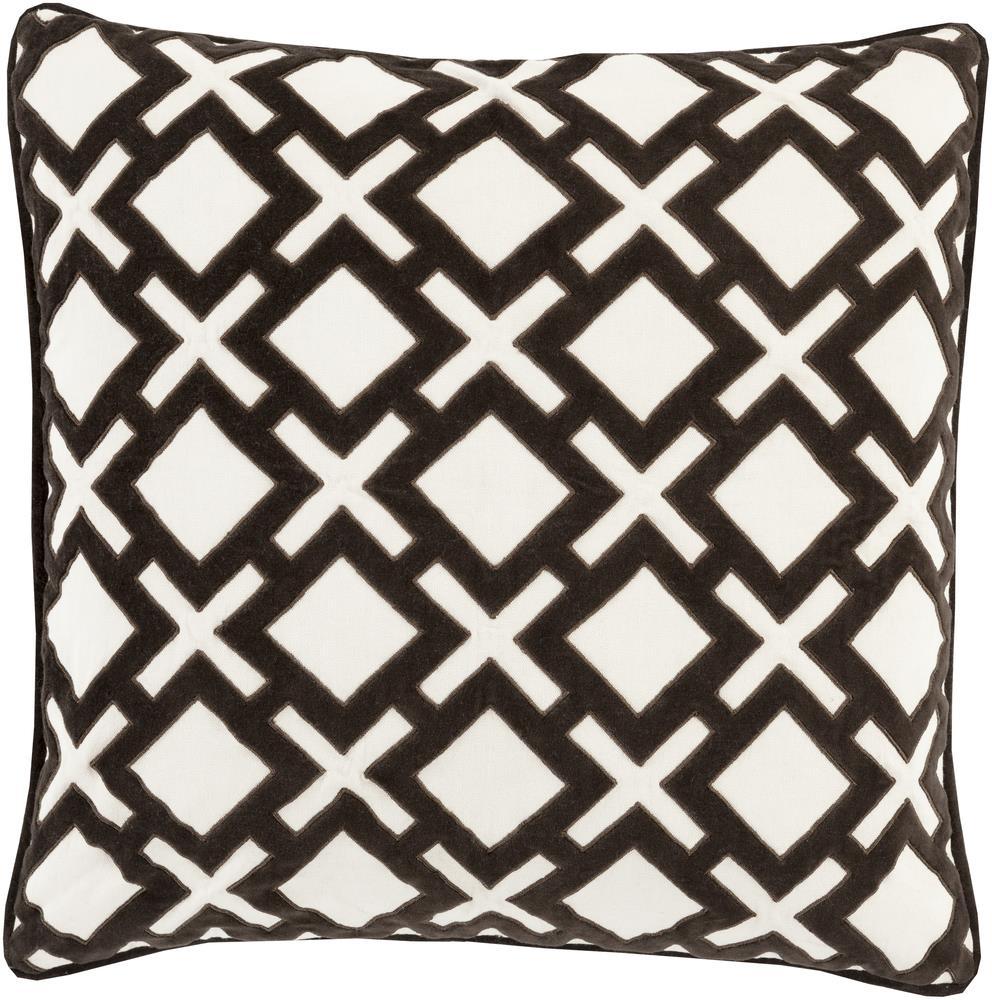 """Surya Rugs Pillows 18"""" x 18"""" Decorative Pillow - Item Number: AX003-1818P"""