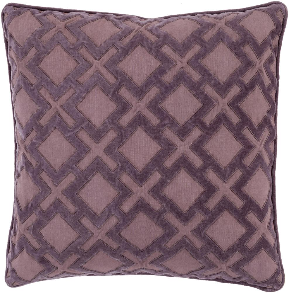"Surya Rugs Pillows 22"" x 22"" Decorative Pillow - Item Number: AX004-2222P"