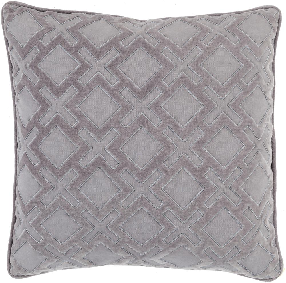 "Surya Pillows 20"" x 20"" Decorative Pillow - Item Number: AX005-2020P"