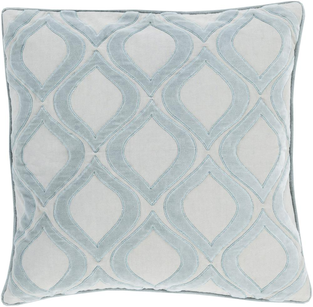 "Surya Pillows 18"" x 18"" Decorative Pillow - Item Number: AX006-1818P"